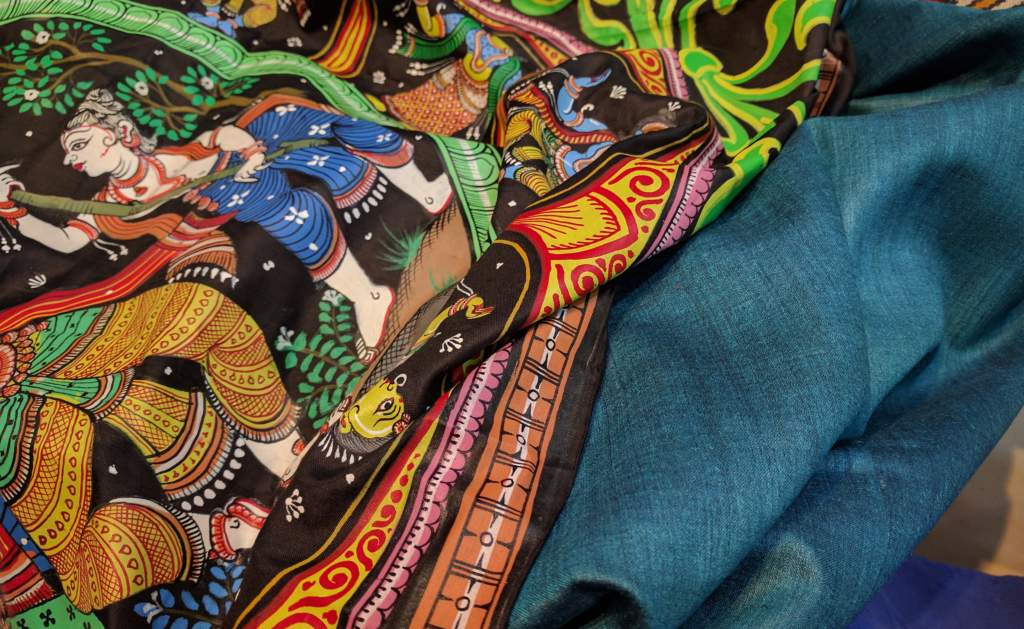pattachitra-saree-latest-collections_best-deals-1024x629 Rediscovering the Beauty of Traditional Indian Art Form through our latest Pattachitra Saree Collections