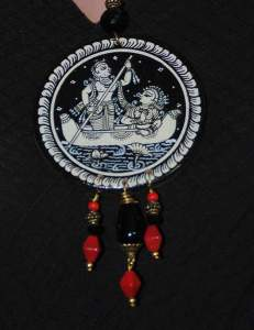 22730393_1688208074583933_5746138360979083940_n-231x300 Pattachitra Wooden Necklace - An exclusive collection by Vipakka