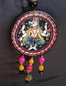 22780457_1688208941250513_4951771720287267382_n-231x300 Pattachitra Wooden Necklace - An exclusive collection by Vipakka