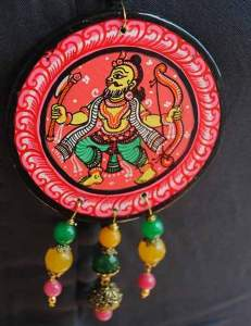 22788652_1688206221250785_7580100473127246658_n-231x300 Pattachitra Wooden Necklace - An exclusive collection by Vipakka
