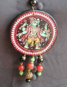 22814210_1688207461250661_8832504915310512599_n-231x300 Pattachitra Wooden Necklace - An exclusive collection by Vipakka