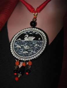 22815231_1688207684583972_319356948391024039_n-231x300 Pattachitra Wooden Necklace - An exclusive collection by Vipakka