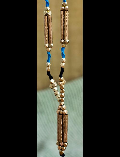 Brass Dhokra Necklace