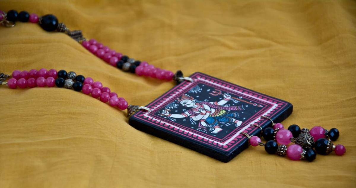 mitsli_misc-1-10_preview-1200x636 Pattachitra Wooden Necklace - An exclusive collection by Vipakka