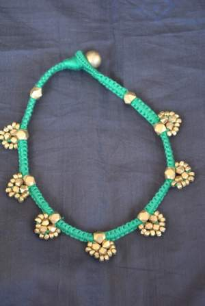 Hand-crafted-dokra-anklet-15-300x447 Trendy Handmade Anklets from Vipakka To Stay Up To Date