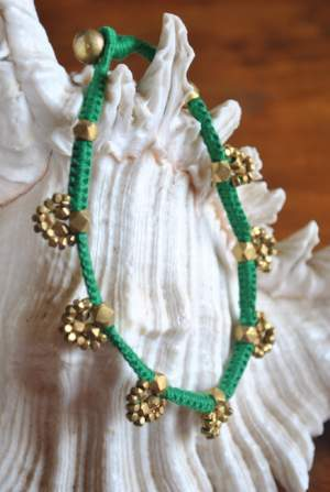 Hand-crafted-dokra-anklet-15a-300x447 Trendy Handmade Anklets from Vipakka To Stay Up To Date
