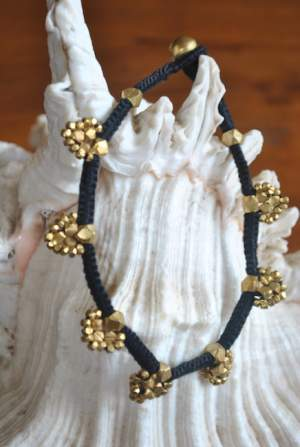 Hand-crafted-dokra-anklet-16a-300x447 Trendy Handmade Anklets from Vipakka To Stay Up To Date