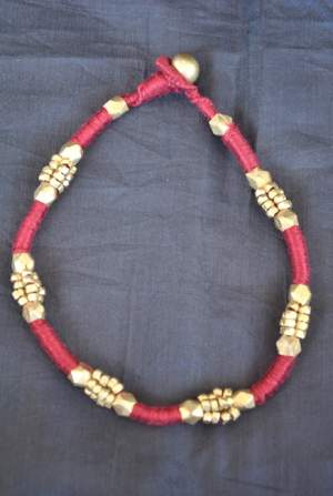 Hand-crafted-dokra-anklet-20-300x447 Trendy Handmade Anklets from Vipakka To Stay Up To Date