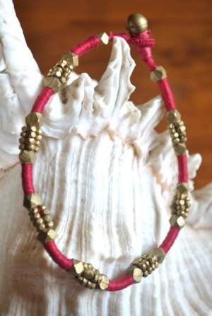 Hand-crafted-dokra-anklet-20a-300x447 Trendy Handmade Anklets from Vipakka To Stay Up To Date