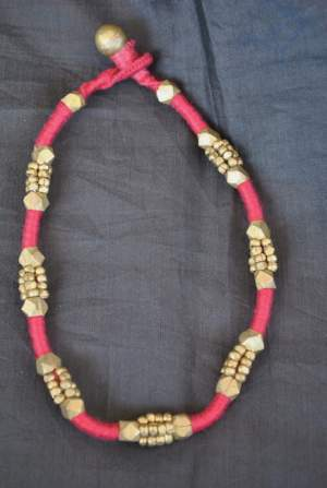 Hand-crafted-dokra-anklet-21-300x447 Trendy Handmade Anklets from Vipakka To Stay Up To Date