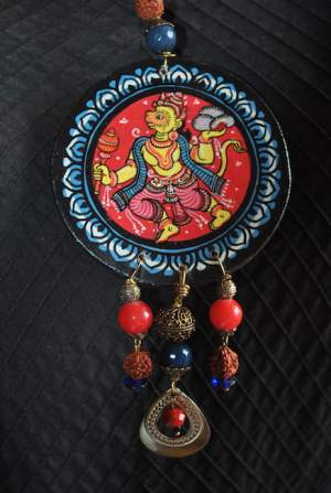 pic1b-300x447 5 Amazing ways to style your Pattachitra Necklace  - Tradition meets Trend
