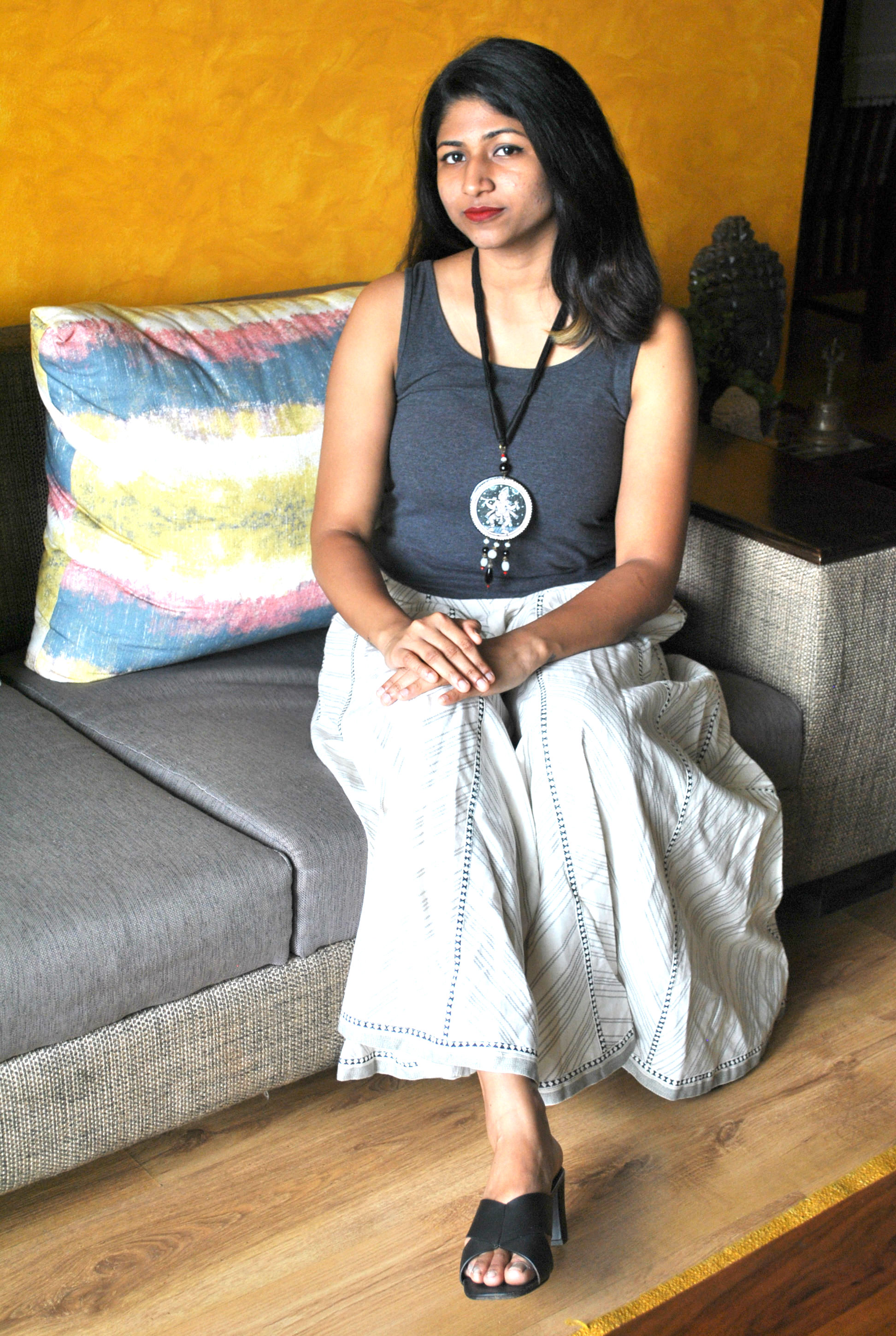 5-Amazing-ways-to-style-your-Pattachitra-Necklace2 5 Amazing ways to style your Pattachitra Necklace  - Tradition meets Trend