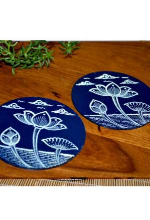Vipakka-hand-painted-coasters-Box-pattachitra-art
