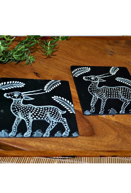 Vipakka-hand-painted-coasters-Box-pattachitra-art