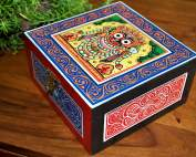 Hand-painted-Jewelry-Box-inspired-by-Pattachitra-Art-Form-MDF-Box-with-acrylic-paint-23-177x142 Top decor ideas for your home with hand-painted kettles