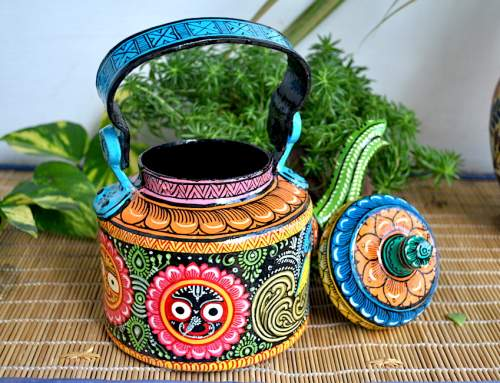 Top Hand Painted Decorative Kettle Collections for a Trendy Living Room