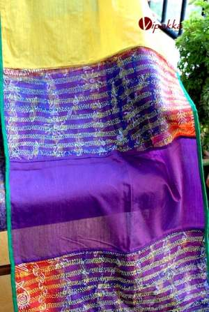 Handcrafted-premium-cotton-dupatta-or-stole-for-summer2-1-300x447 Handpainted Patachitra Motif Design Kurti - VK00017