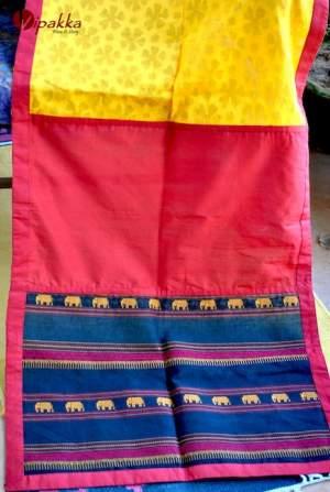 Handcrafted-premium-cotton-dupatta-or-stole-for-summer6-300x447 Handpainted Patachitra Motif Design Kurti - VK00017