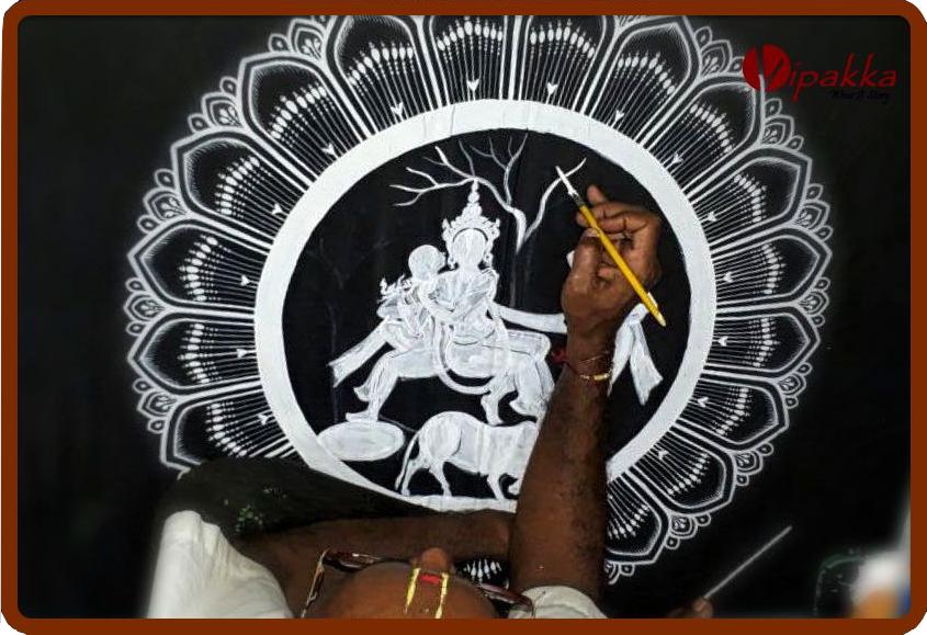 hand-painted-patachitra-kurta_vipakka Here's How Vipakka is Promoting Women Empowerment of Raghurajpur Village