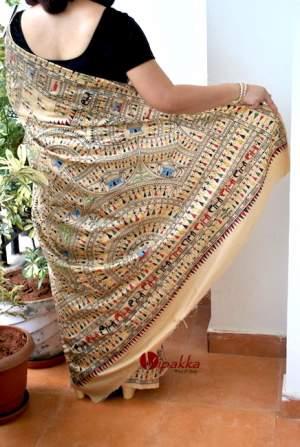 handpainted-patachitra-cotton-and-silk-saree-vipakka-10-1-300x447 Product By Category