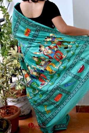 handpainted-patachitra-cotton-and-silk-saree-vipakka-6-1-300x447 Product By Category