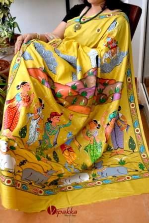 handpainted-patachitra-cotton-and-silk-saree-vipakka-8-1-300x447 Product By Category
