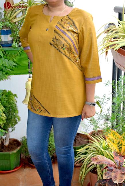 Handpainted Pattachitra Kurta