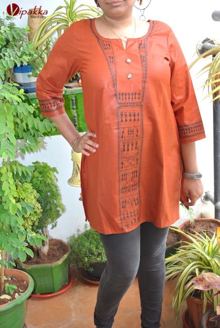 Handpainted Patachitra Kurta