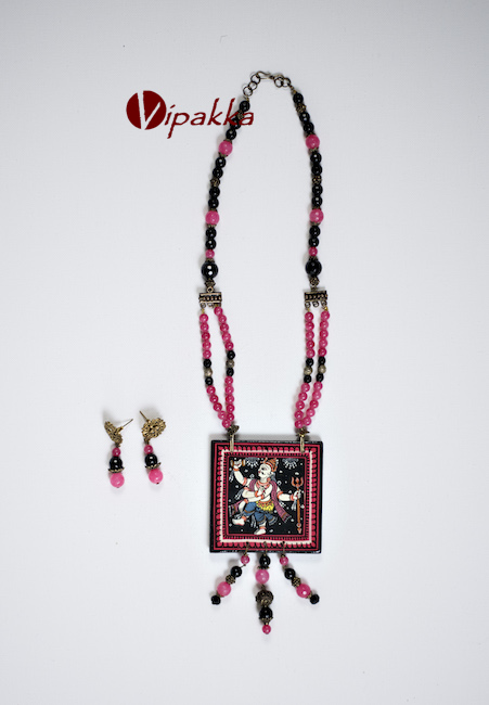 Hand-painted Patachitra Necklace
