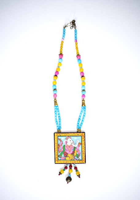 Hand-painted Pattachitra Necklace