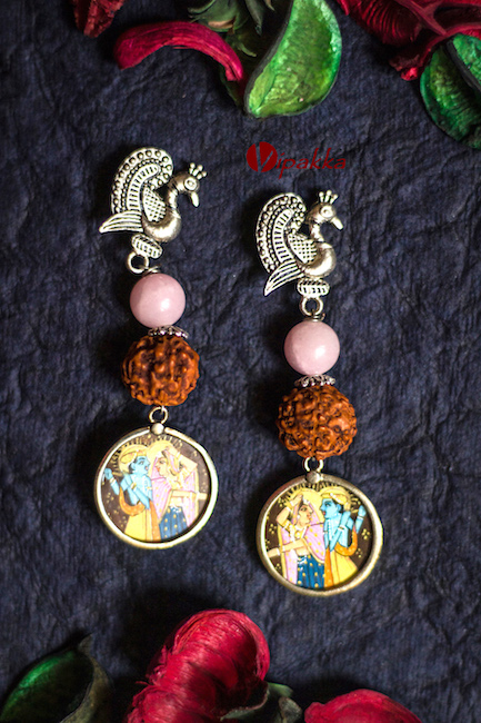 Vipakka handcrafted jewelry - earring set