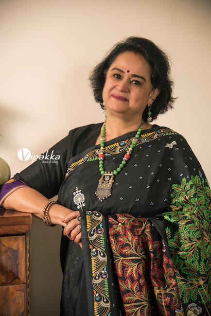Vipakka-hand-painted-patachitra-saree-7-4 Shop The Look
